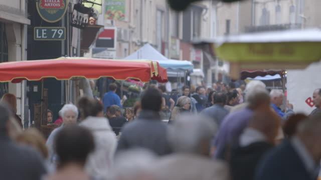market street scenes, montpellier - モンペリエ点の映像素材/bロール