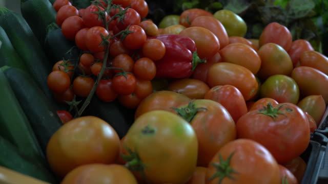 market vegetables - cherry tomato stock videos & royalty-free footage