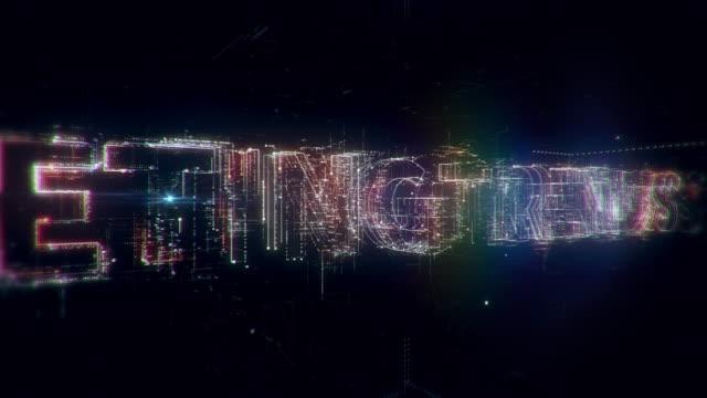 marketing trends worte animation - zielgruppe stock-videos und b-roll-filmmaterial