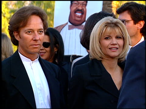 stockvideo's en b-roll-footage met markie post at the premiere of 'the nutty professor' at universal amphitheatre in universal city california on june 28 1996 - 1996