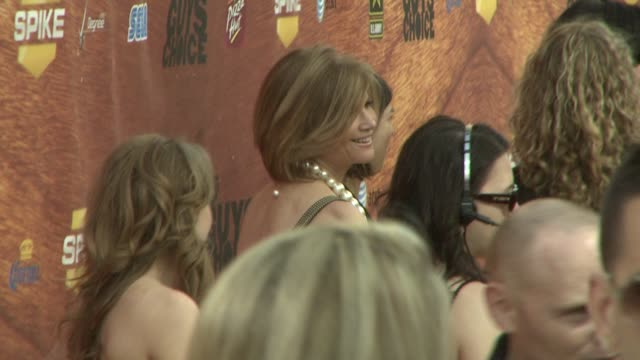 markie post at the spike tv's 2nd annual guys' choice awards at sony studios in los angeles california on may 31 2008 - spike guys choice awards video stock e b–roll