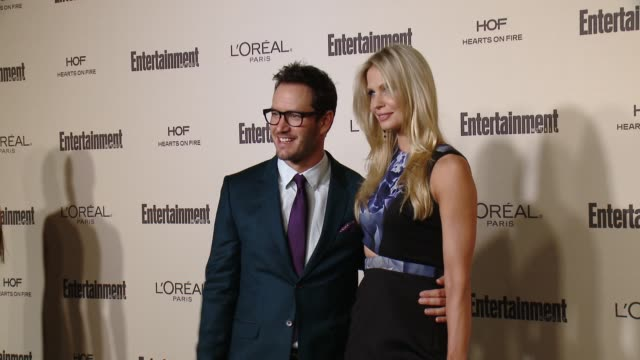 markpaul gosselaar at entertainment weekly's preemmy celebration at fig olive melrose place on september 18 2015 in west hollywood california - entertainment weekly stock videos and b-roll footage