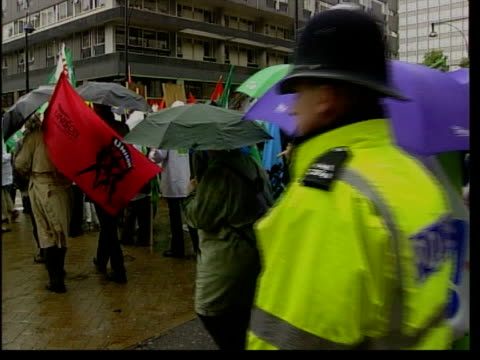Marks and Spencer European workers protest NAT U'LAY London Marks amp Spencer store PULL OUT PAN employees from stores in continental Europe that...