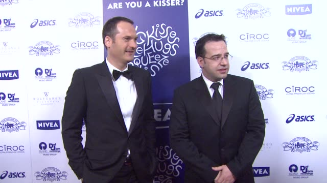 Markus Pinger and Nicolas Maurer at the NIVEA at the Island Def Jam 2009 GRAMMY's After Party at Los Angeles CA