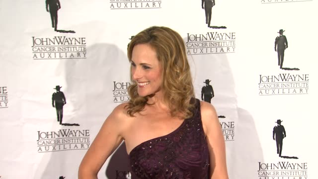 Marlee Matlin at John Wayne Cancer Institute 27th at The Beverly Hilton Hotel on April 21 2012 in Beverly Hills California