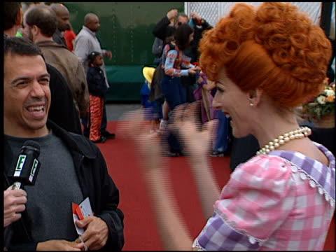 marlee matlin at the 2001 dream halloween at barker hanger in santa monica california on october 27 2001 - marlee matlin video stock e b–roll