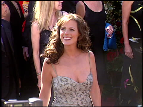Marlee Matlin at the 2004 Emmy Awards Arrival at the Shrine Auditorium in Los Angeles California on September 19 2004