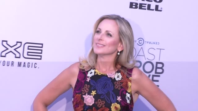 marlee matlin at the comedy central roast of rob lowe at sony pictures studios in culver city at celebrity sightings in los angeles on august 27 2016... - marlee matlin video stock e b–roll