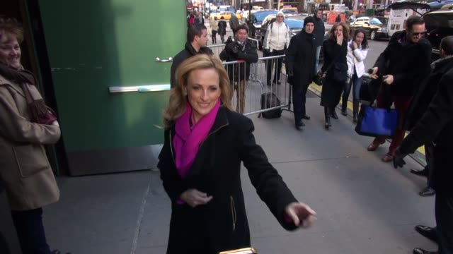 Marlee Matlin at the 'Good Morning America' studio in New York NY on 3/4/13