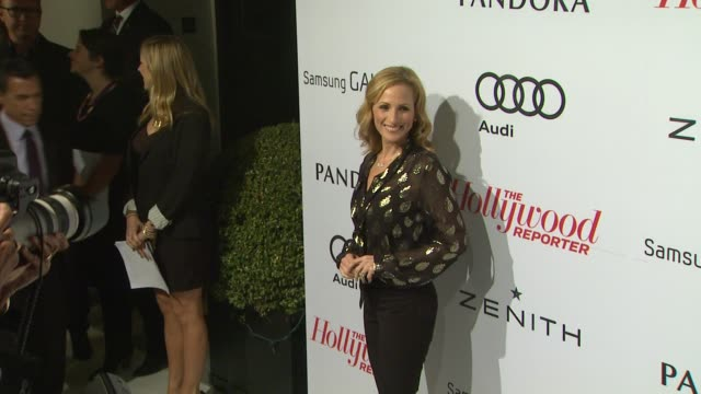 marlee matlin at the hollywood reporter's nominees' night 2013 2/4/2013 in beverly hills ca - marlee matlin video stock e b–roll
