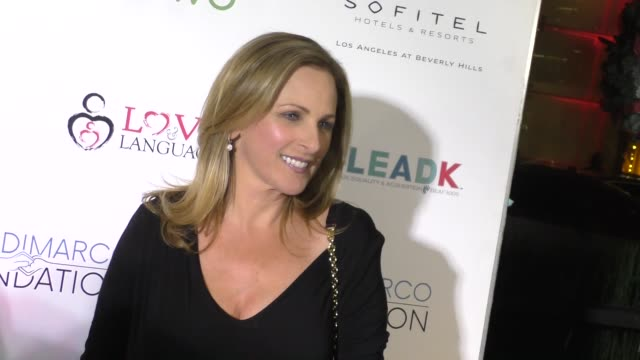 Marlee Matlin at the Nyle DiMarco Foundation Kicks Off Love And Language Campaign on November 29 2016 in Los Angeles California