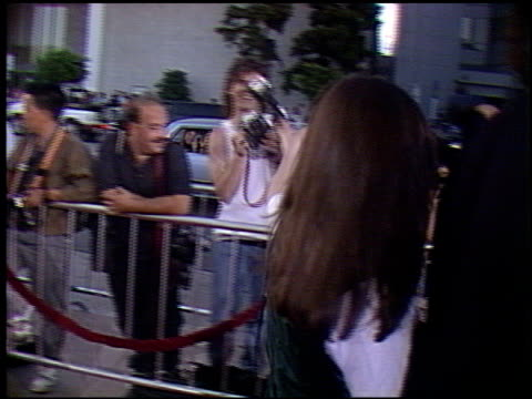 Marlee Matlin at the 'Truth or Dare' Premiere at the Cinerama Dome at ArcLight Cinemas in Hollywood California on May 6 1991