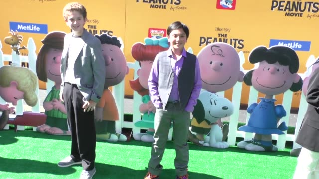 Marleik Mar Mar Walker at The Peanuts Movie Premiere at Regency Village Theatre in Westwood on November 01 2015 in Los Angeles California
