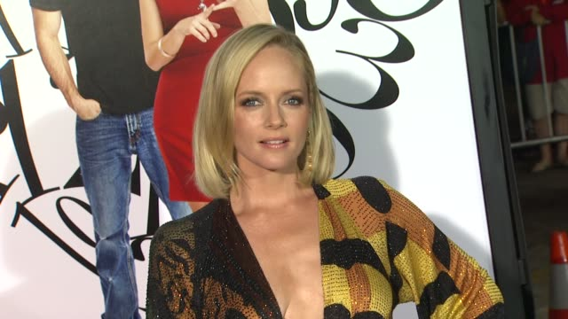 marley shelton at the 'what's your number' premiere at westwood ca. - westwood video stock e b–roll