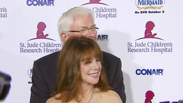 Marlo Thomas and Phil Donahue at the Runway For Life Benefiting St Jude Children's Research Hospital at the Beverly Hilton in Beverly Hills...