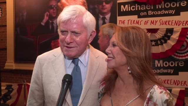 INTERVIEW – Marlo Thomas Phil Donahue On what brings them out here tonight On being friends of Michael Moore and how much they love his work On how...