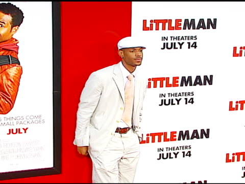 marlon wayans at the 'little man' premiere at the mann national theatre in westwood california on july 6 2006 - mann national theater stock videos & royalty-free footage