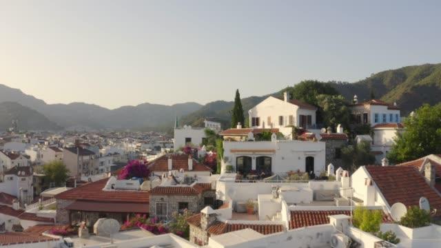 marmaris houses - marmaris stock videos & royalty-free footage