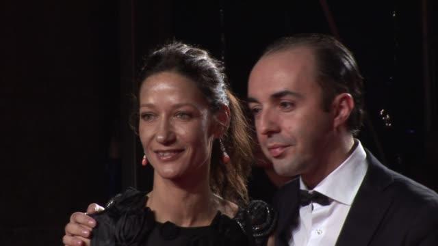 marpessa hennink & francesco scognamiglio; at the dolce & gabbana party: milan fashion week at milan . - dolce & gabbana stock-videos und b-roll-filmmaterial