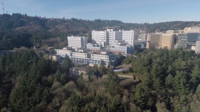 marquam hill - portland oregon stock videos & royalty-free footage