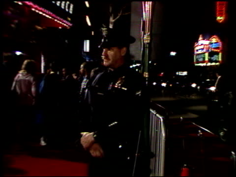marquee at the 'freejack' premiere at grauman's chinese theatre in hollywood california on february 14 1992 - premiere stock videos & royalty-free footage