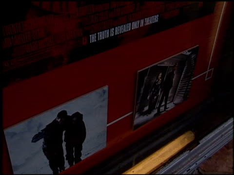 Marquee at the Premiere of 'The X Files Fight the Future' on June 11 1998