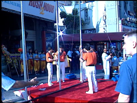 Marquee at the 'Rush Hour 2' Premiere at Grauman's Chinese Theatre in Hollywood California on July 26 2001
