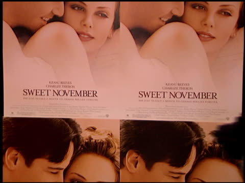 Marquee at the 'Sweet November' Premiere at the Bruin Theatre in Westwood California on February 12 2001