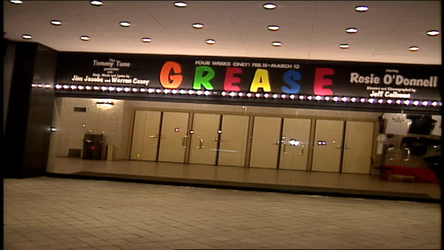 Marquee from Grease Musical in NYC
