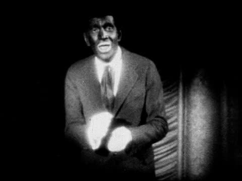 talkies marquee 'see and hear al jolson in the jazz singer' clip al jolson in blackface performing singing 'mammy' - singer stock videos & royalty-free footage