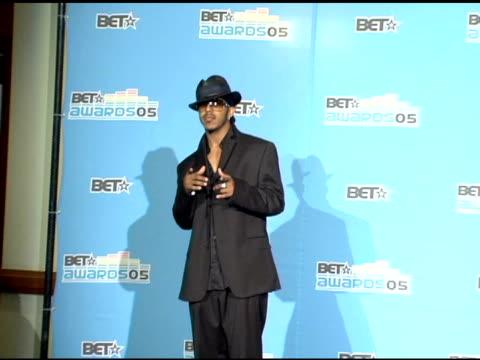 marques houston at the 2005 bet awards press room at the kodak theatre in hollywood, california on june 29, 2005. - the kodak theatre bildbanksvideor och videomaterial från bakom kulisserna