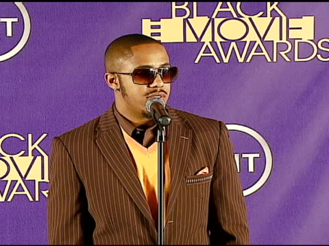 marques houston at the 2006 tnt black movie awards press room at wiltern theater in los angeles california on october 15 2006 - wiltern theater stock videos and b-roll footage