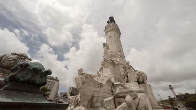 Marquês de Pombal Square in Lisbon