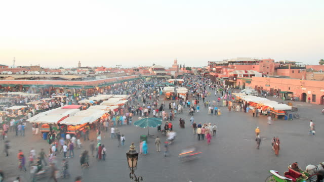 marrakech timelapse hd - moroccan culture stock videos & royalty-free footage