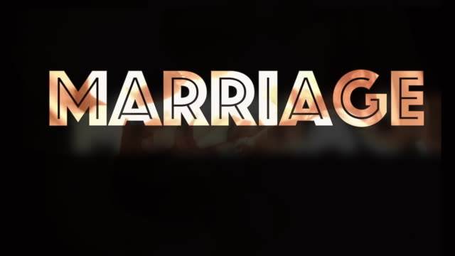 marriage break up computer graphic - shaking stock videos & royalty-free footage