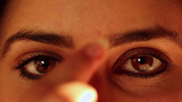 a married indian woman - bindi stock videos and b-roll footage