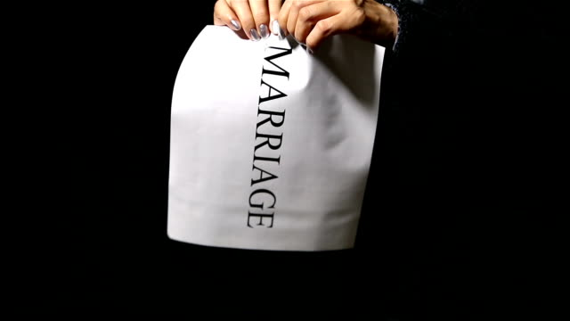 marrige - divorce stock videos and b-roll footage