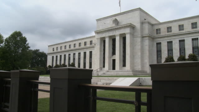 WS Marriner S. Eccles Federal Reserve Board Building housing main offices of Board of Governors of Federal Reserve System / Washington D.C., USA