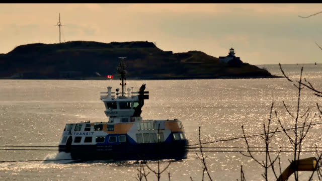 marriott brief georges island - ferry stock videos & royalty-free footage