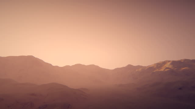 mars flyover - surface level stock videos & royalty-free footage