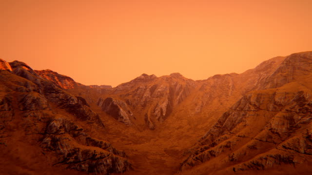 mars landscape - surface level stock videos & royalty-free footage