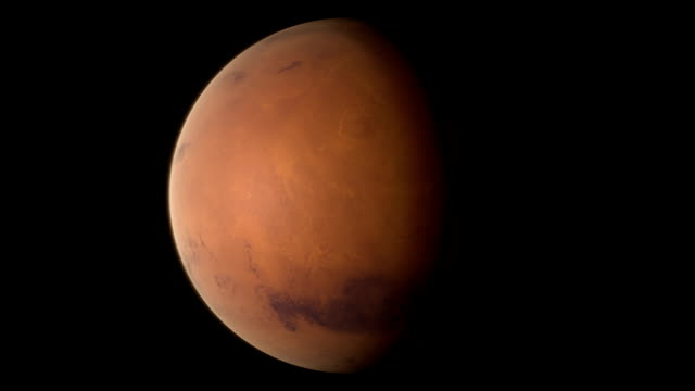 mars - looping 360 sequence - mars planet stock videos & royalty-free footage
