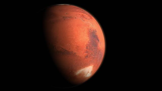 mars rotating - mars planet stock videos & royalty-free footage