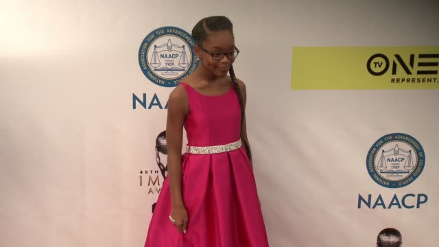 Marsai Martin at 48th NAACP Image Awards at Pasadena Civic Auditorium on February 11 2017 in Pasadena California
