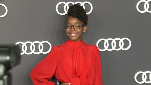 Marsai Martin at Audi Celebrates the 69th Emmys® in Los Angeles CA