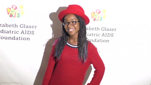 Marsai Martin at the Elizabeth Glaser Pediatric AIDS Foundation's 27th Annual A Time For Heroes on October 23 2016 in Hollywood California