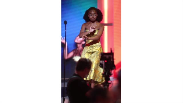 marsai martin onstage at the 2019 bet awards at microsoft theater on june 23, 2019 in los angeles, california. <<enter caption here>> on june 23,... - bet awards bildbanksvideor och videomaterial från bakom kulisserna