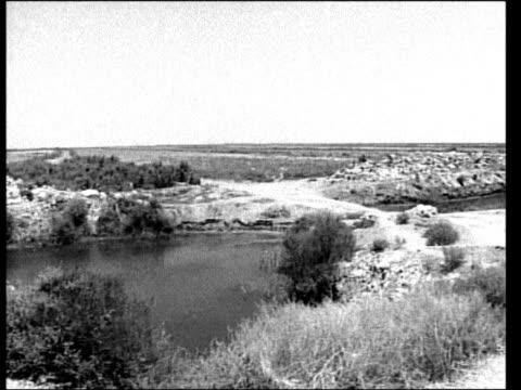 B/W Marsh land PAN