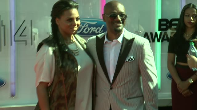 marsha ambrosius at the 2014 bet awards on june 29 2014 in los angeles california - bet awards stock videos and b-roll footage