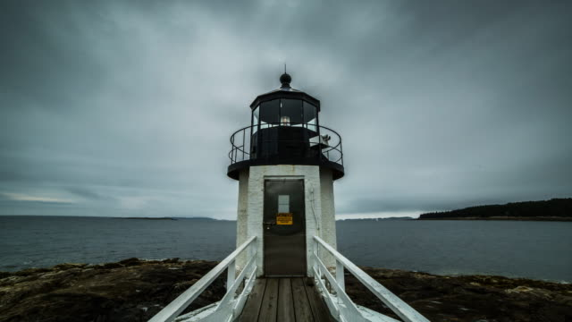 marshall point light house - lighthouse stock videos & royalty-free footage